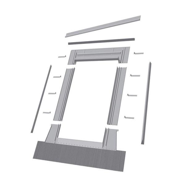 EHW 24 in. x 38 in. Aluminum High Profile Flashing Kit