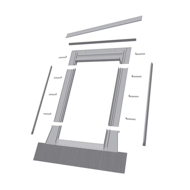 EHW 24 in. x 46 in. Aluminum High Profile Flashing Kit