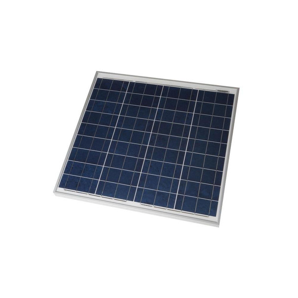 Grape Solar GS-STAR-50W 50-Watt Polycrystalline Solar Panel for RV's, Boats and 12-Volt Systems