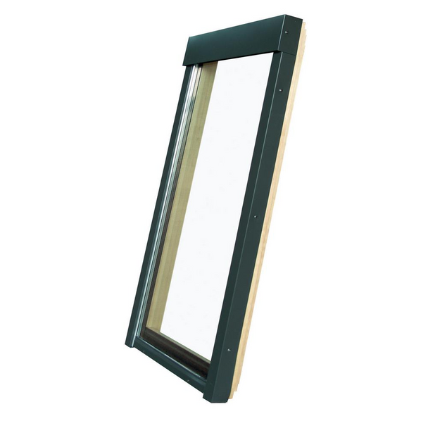 Fakro 30-1/2 in. x 37-1/2 in. Fixed Deck-Mounted Skylight