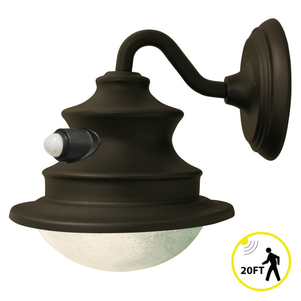 Gama Sonic Solar Barn Light with Motion Sensor GS-122PIR