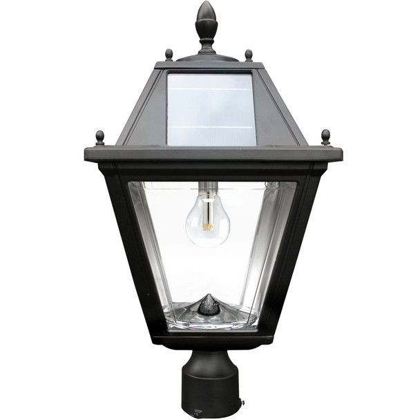 Gama Sonic Regal Solar Lamp with 3-Inch Pole Mount GS-300F
