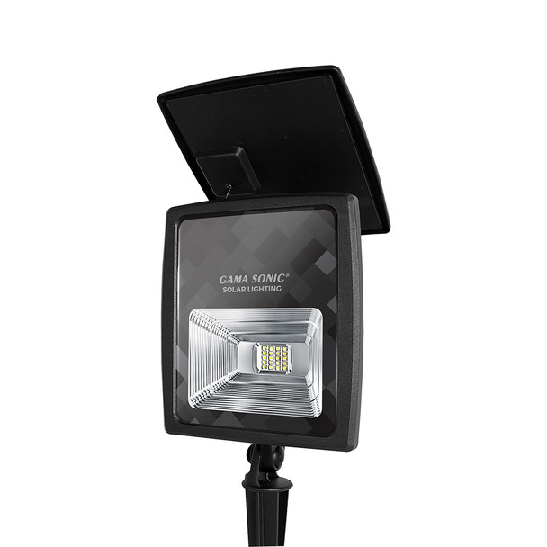 Gama Sonic 2W Solar Flood Light with Warm White Or Bright White LEDs GS-203