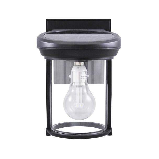 Gama Sonic Solar Coach Lantern with GS Solar LED Light Bulb GS-1B