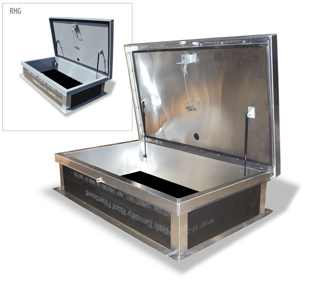 Acudor 30 x 54 Ship Stair Roof Hatch A3862 Aluminum