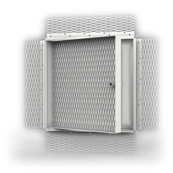 "Acudor 12 x 12 AP-5010 Recessed for Acoustical Plaster, Door Panel Recessed 5/8"""