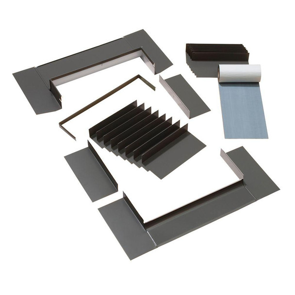 VELUX S01/S06 Low-Profile Flashing with Adhesive Underlayment for Deck Mount Skylight