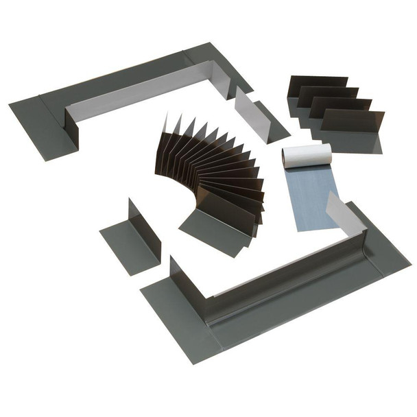 VELUX 1430/1446 Low-Profile Flashing with Adhesive Underlayment for Curb Mount Skylight