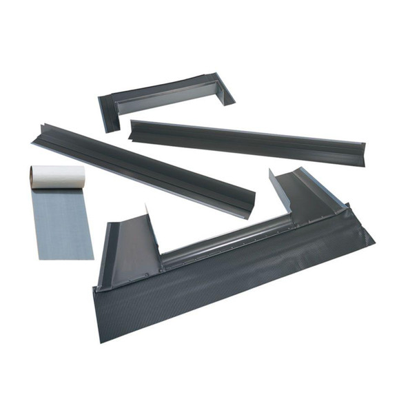 VELUX C12 Metal Roof Flashing Kit with Adhesive Underlayment for Deck Mount Skylight
