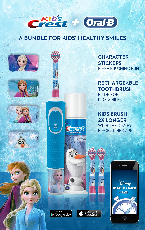 Oral-B Frozen Kids Bundle