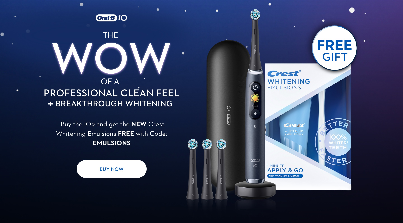 homepage banner io9 whitening emulsions
