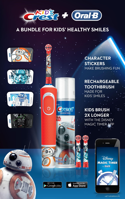 Oral-B Star Wars Kids Bundle