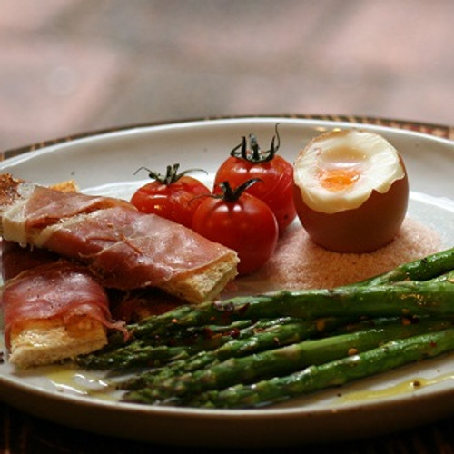 Asparagus Brunch with Toasted Soldiers