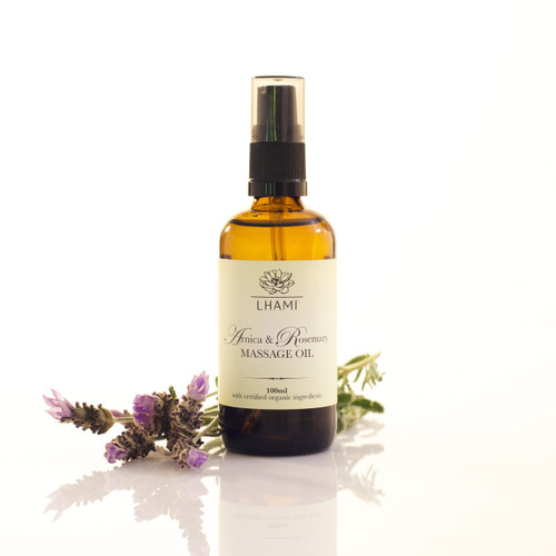 Arnica & Rosemary Massage Oil 100ml