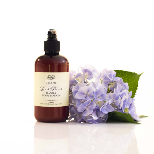 Lime & Patchouli Hand & Body Lotion