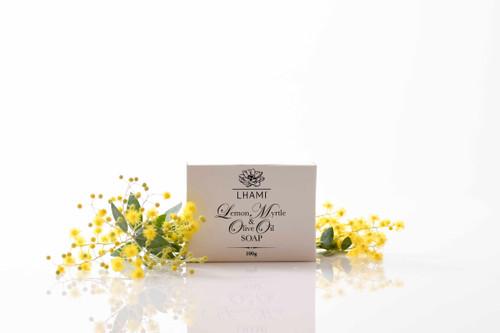 100g Lemon Myrtle & Olive Oil Soap