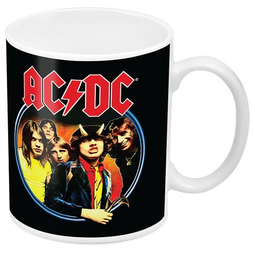 AC/DC Group Image Mug