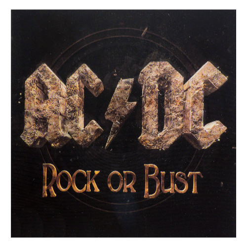 AC/DC Rock or Bust Sticker