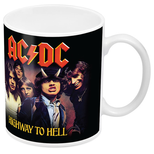 AC/DC Highway to Hell Image Mug