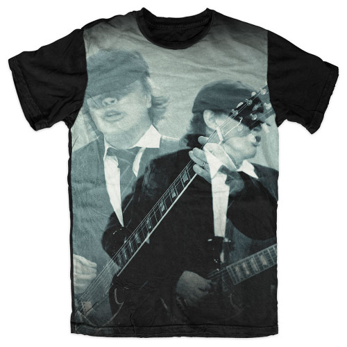 AC/DC Angus Sublimated Tee