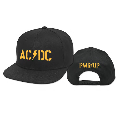 AC/DC Power Up Logo Flat-Bill Cap