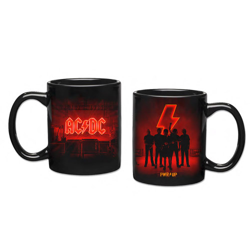 AC/DC Power Up Silhouette Mug