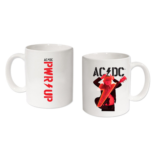 AC/DC Power Up Angus White Mug