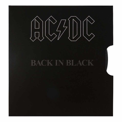 AC/DC Back in Black Collector Coin