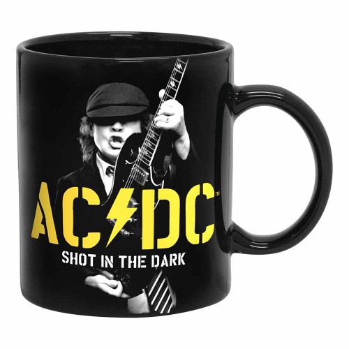 AC/DC Power Up Angus Yellow Mug