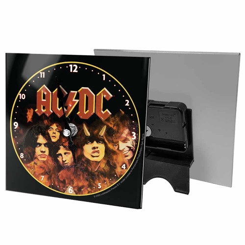 AC/DC Highway to Hell Desk Clock