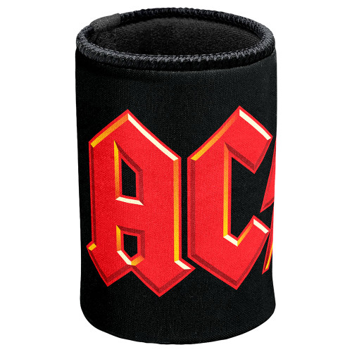 AC/DC Red Logo Can Cooler