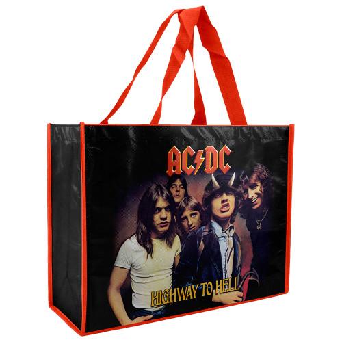 AC/DC Laminated Shopper bag