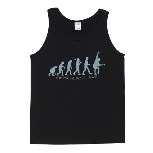 AC/DC Evolution of Rock Mens Black Singlet