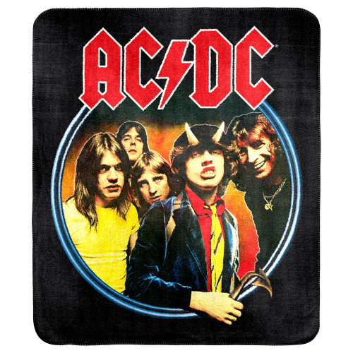 AC/DC Highway to Hell Throw Rug