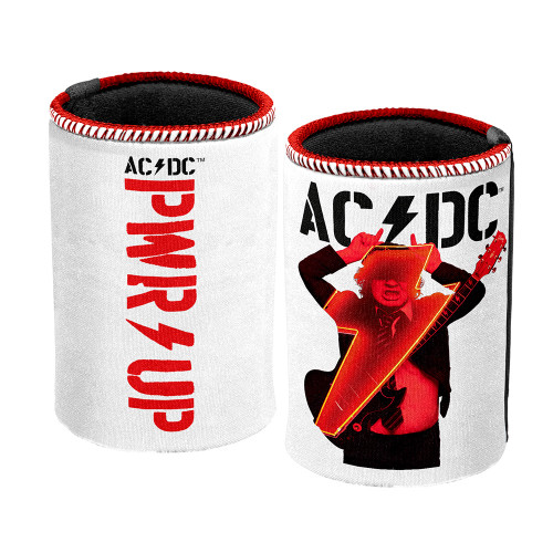 AC/DC Power Up Angus White Can Cooler