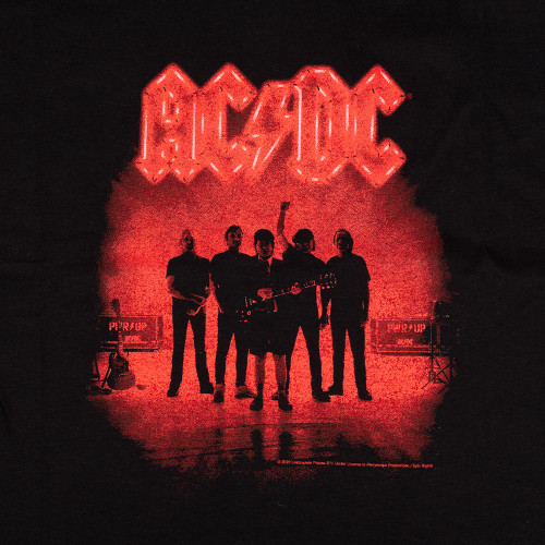 AC/DC Power Up Silhouette Men's Tee