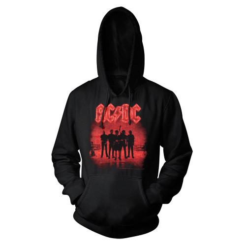 AC/DC Power Up Silhouette Hoodie