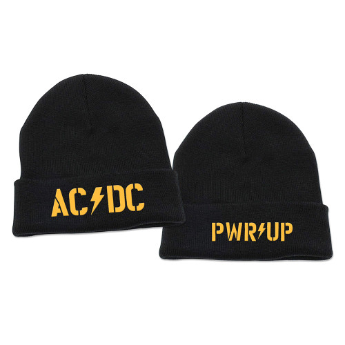 AC/DC Power Up Logo Beanie