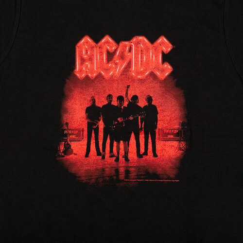 AC/DC Power Up Silhouette Ladies' Tee
