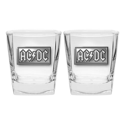 AC/DC S/2 Metal Badged Glasses