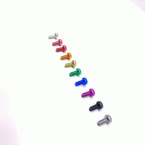 Inertia Screws Colored Aluminum Screws