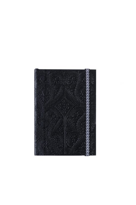 Embossed Leather Notebook