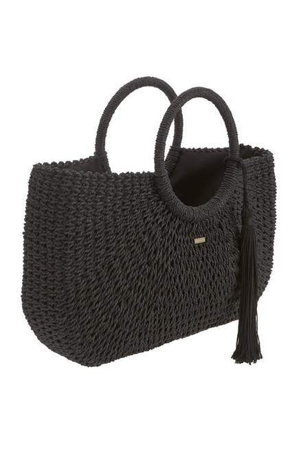 Sorrento Bag Woven Black