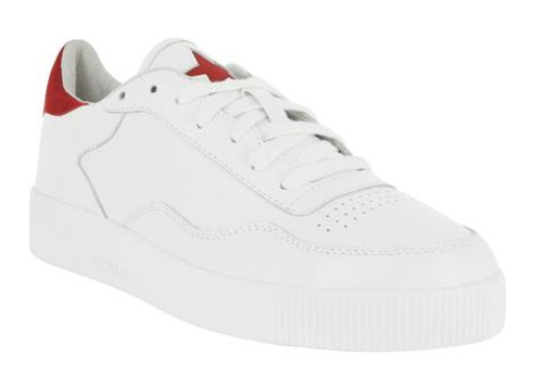White Trainers Red Star