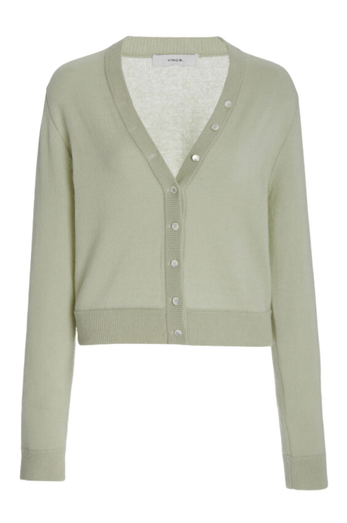 Buttoned Cardigan - Mint