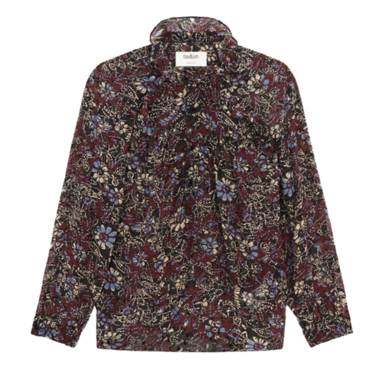 Gaelle Blouse in Carbone