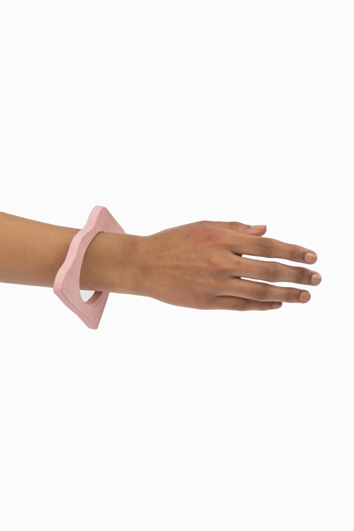 TACTILE MATTER FOR SAINT HERON WAVY BANGLE - PINK