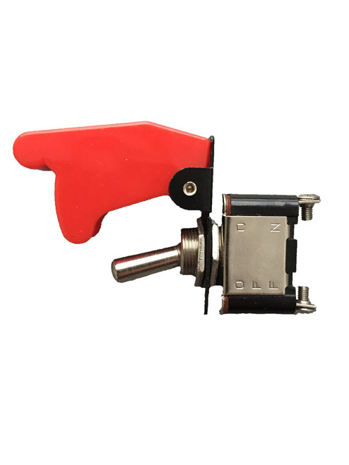 Toggle Switch + Red Safety Cover