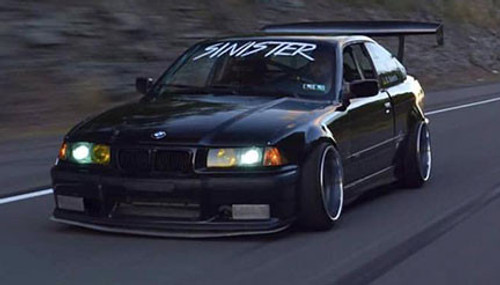 E36 Coupe Over Fenders