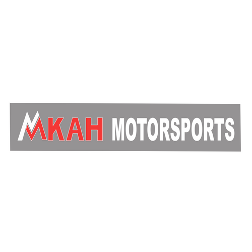 """MKAH Motorsports 8.5"""" Die Cut Vinyl Decal"""